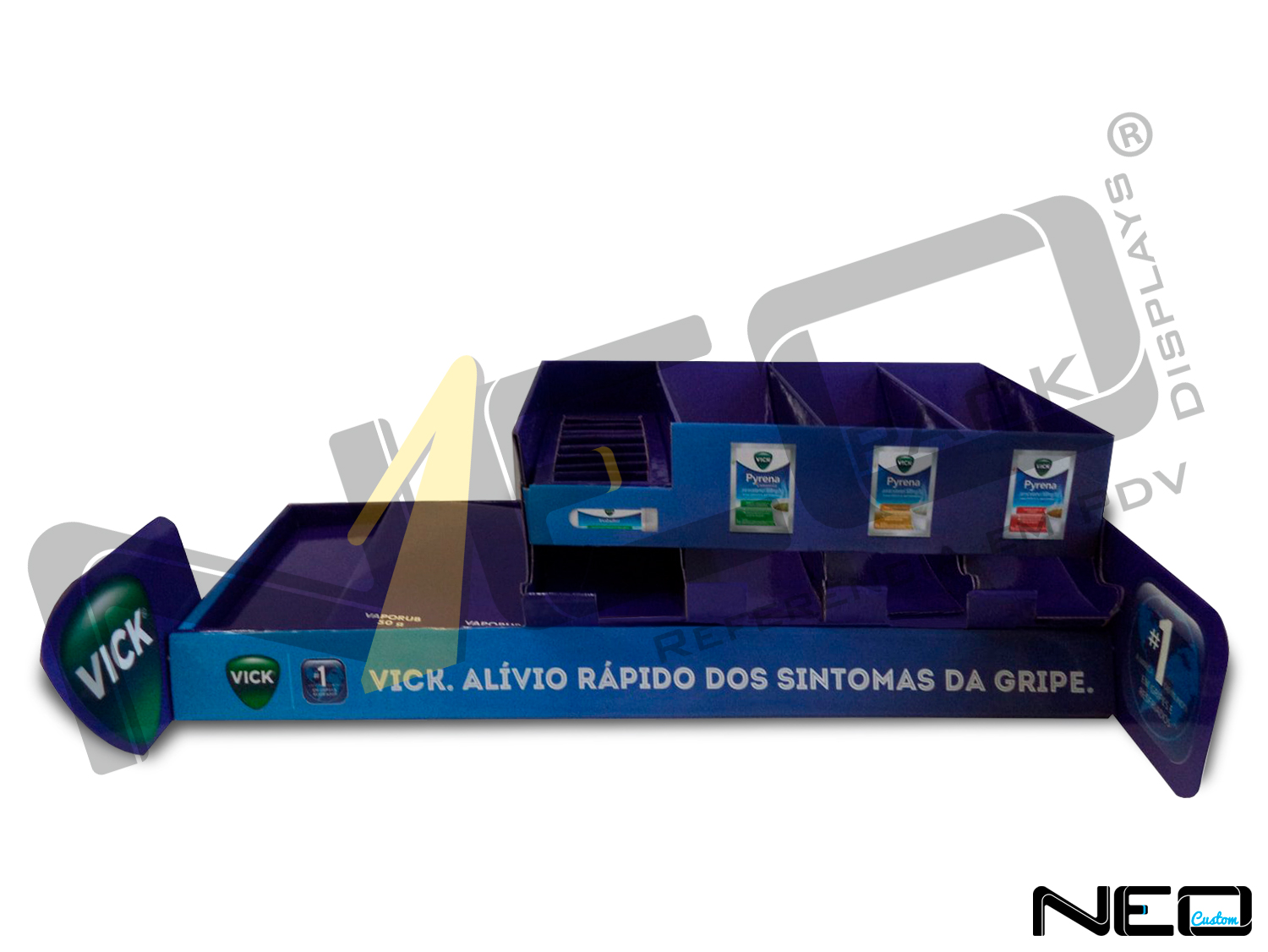 You are currently viewing DISPLAY BALCÃO NICHOS P&G