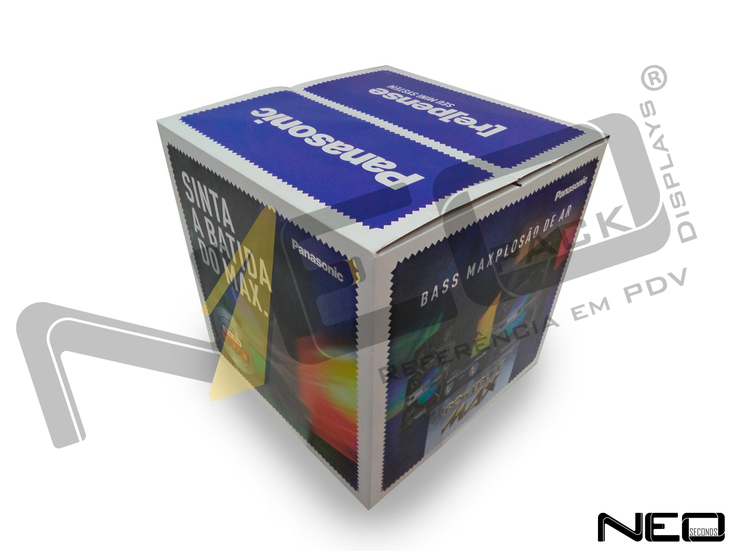You are currently viewing DISPLAY CUBO FECHADO PANASONIC