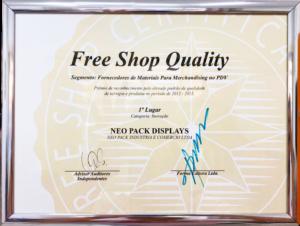 free shop premio neo pack display