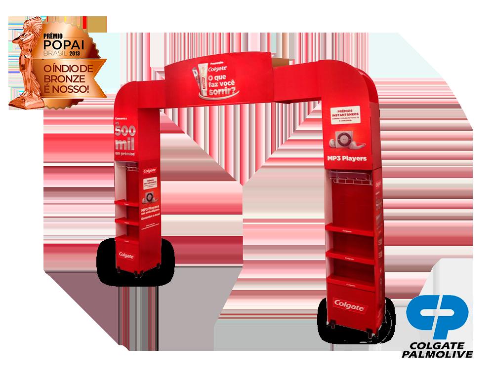 display de papelão expositor premio_popai_neopack_display_retratil_colgate